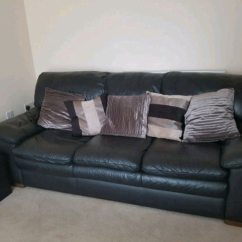 Leather Sofas Dfs Sofa Pune Online Used 3 Seater Originally From For Sale In Broughton