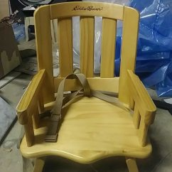 Eddie Bauer High Chairs Outdoor Wood Rocking Used End Chair For Baby Sale In St Augustine
