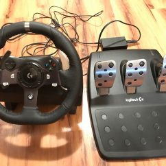 Steering Wheel Pc Set Theory Venn Diagram Worksheet Used Logitech G920 Racing Xbox One Iracing Rfactor For