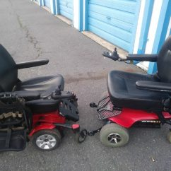 Power Chairs For Sale Best Lumbar Support Chair Used Two Red And Black In Charlotte Letgo