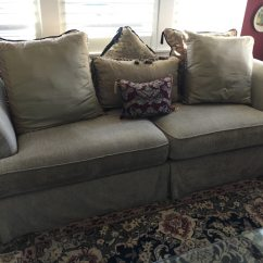New Sofa For Sale Cost Of Reupholstering A Chesterfield Used Beige Almost Excellent Condition In Livermore