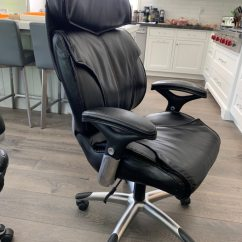 True Innovations Office Chair Cover Rentals Warner Robins Ga Used Premium Leather Super Comfortable For Sale In Menlo Park Letgo