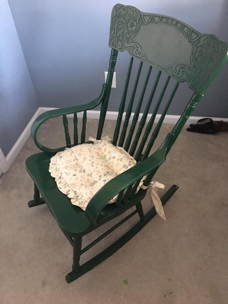 handmade rocking chairs barcelona chair style couch used antique for sale in cameron letgo 1 3