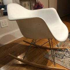 White Rocking Chairs For Sale High Chair Wooden Legs Used Letgo
