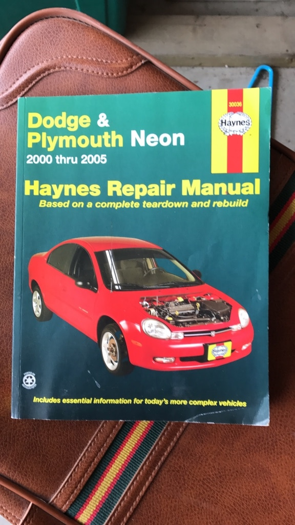 2000 Plymouth Neon Repair Manual