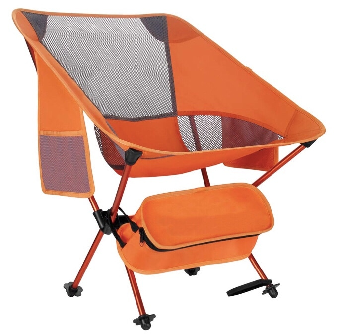 compact camping chair amazon club covers brand new folding lightweight portable backpacking heavy duty 330lbs capacity