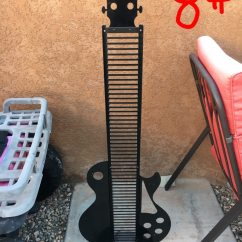 Guitar Shaped Chair Plastic Covers For Recliners Used Cd Holder Sale In Lake Havasu City Letgo Homeother