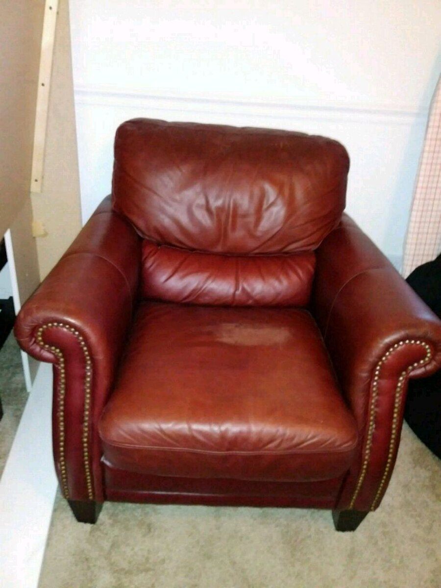 leather sofas tampa linda sofa and loveseat set used brown chair with ottoman for sale in letgo