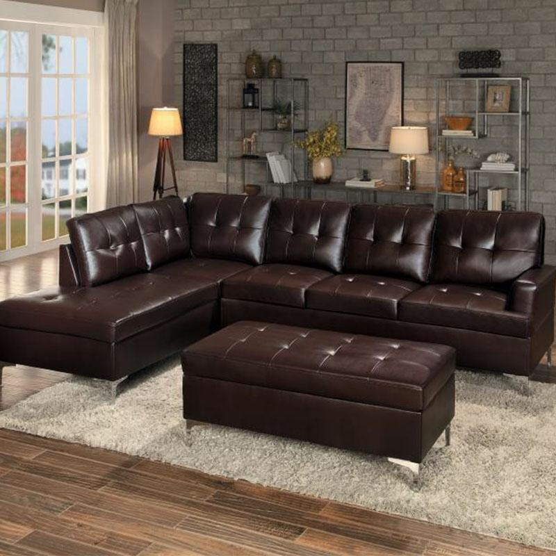 cheap black leather sectional sofas modern sofa table gl used tufted for sale in dallas letgo