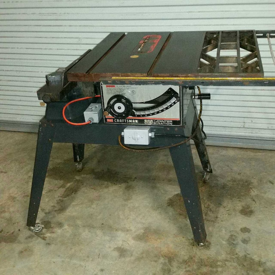 used craftsman table saw jointer combo for sale in cameron letgo rh us letgo com used craftsman table saw fence used craftsman ta [ 900 x 900 Pixel ]