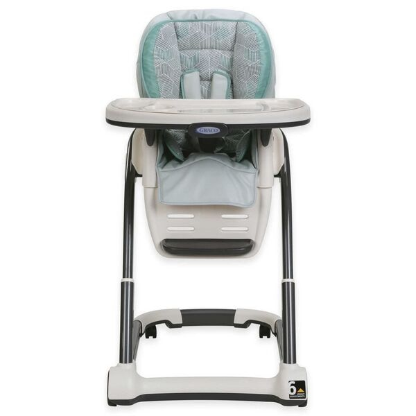 graco high chair 4 in 1 office accessories for back pain used blossom uxe seating system camden teal gray highchair