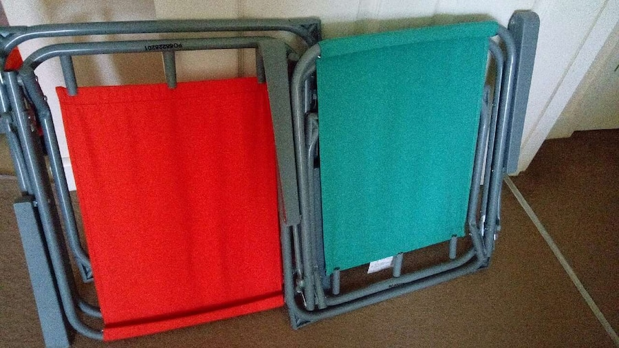folding picnic chairs b q desk chair plans used two garden for sale in coventry letgo
