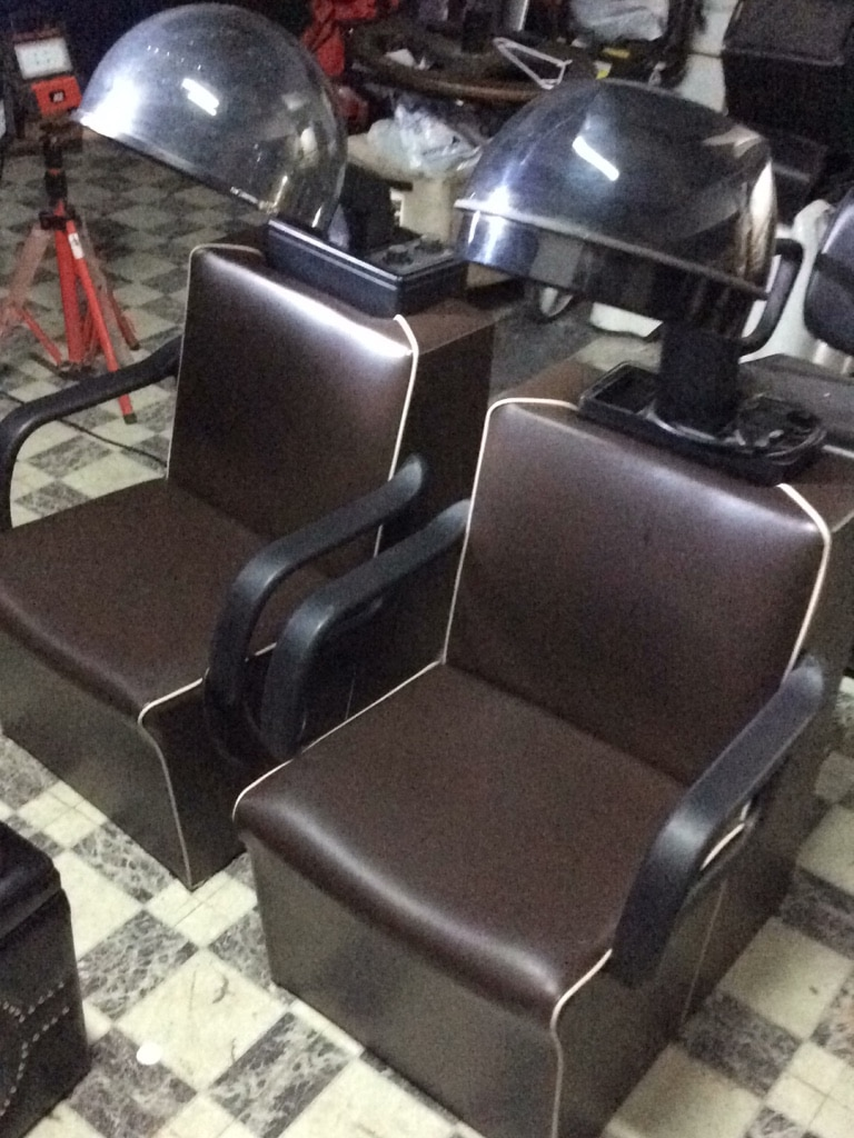 dryer chairs salon chair covers for bar used venus plus w sale in chicago letgo