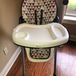 Baby Trend High Chair Recline Hanging Wicker Egg Canada Used Height Is Adjustable And Back Has Several Positions For Sale In Youngsville Letgo