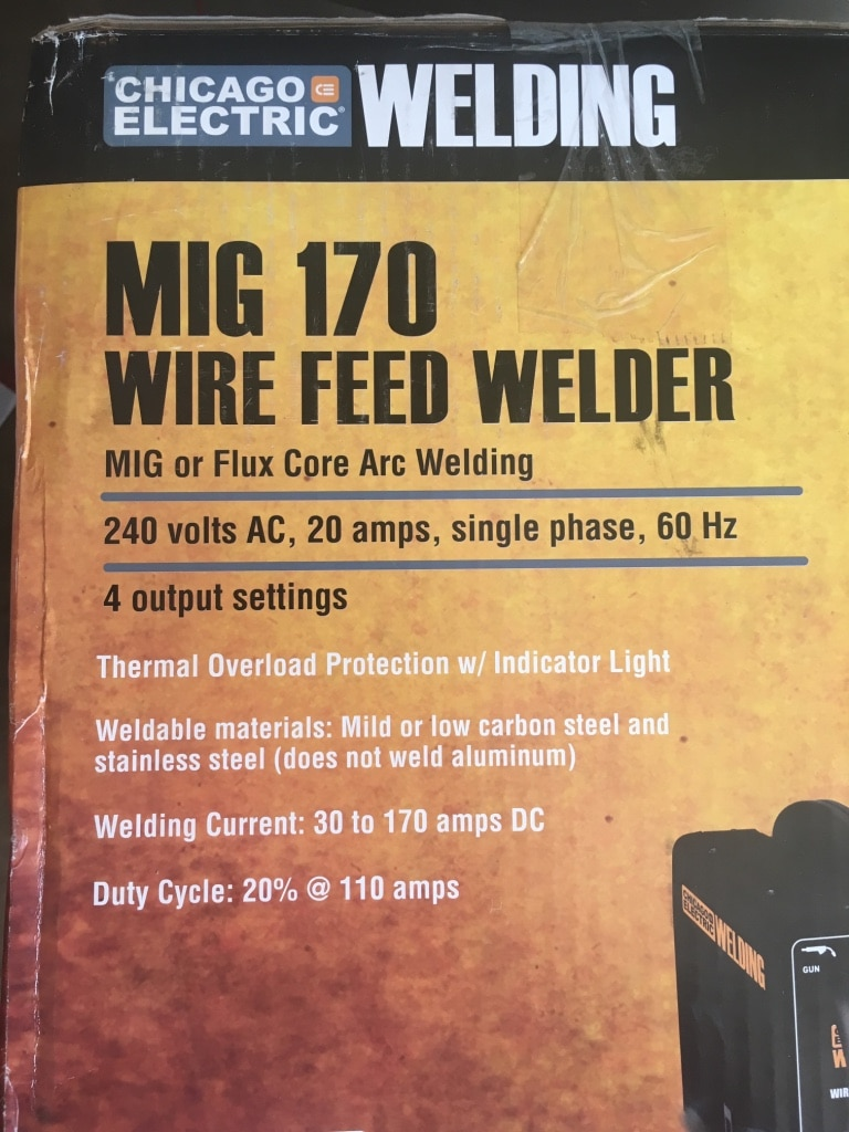 small resolution of pictures of chicago electric wire feed welder