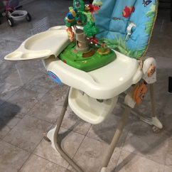 Rainforest High Chair Ethan Allen Adam Used Fisher Price For Sale In Smyrna Letgo