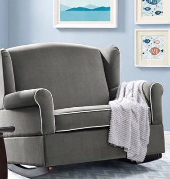 arm chair rocker sure fit covers amazon used new nursery oversized armchair baby rocking homeused home and garden items in arizona tempe