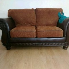 One Sofa Seat Brown Light Grey Walls Used Love And For Sale In Toledo Letgo