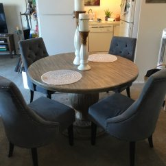 Used Kitchen Tables Birkenstock Shoes Z Gallerie Table Set For Sale In Mountain View Letgo