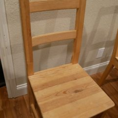 Ikea Wooden Chairs Ace Adirondack Used For Sale In Pacifica Letgo