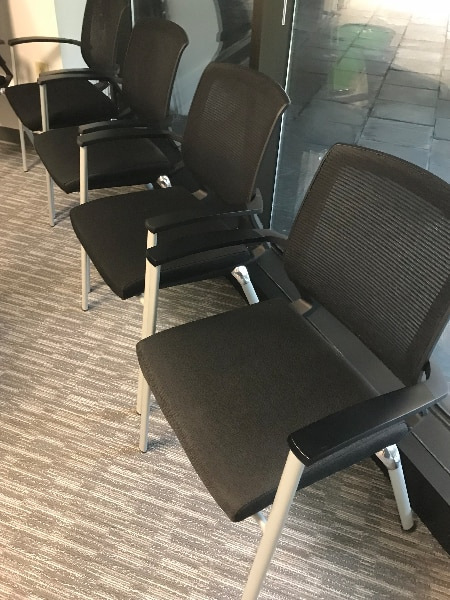 office lobby chairs toddler chair with tray used for sale in atlanta letgo