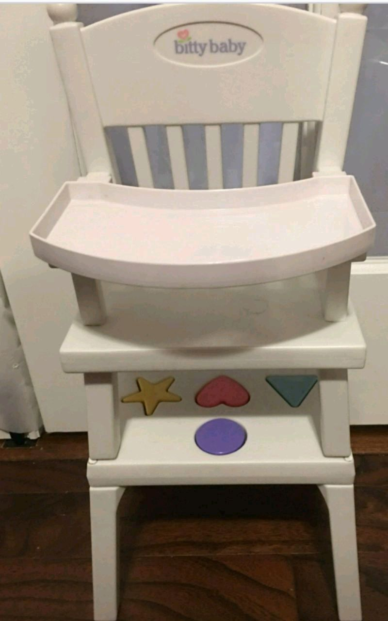 american girl high chair 2 bistro set matawan icinde ikinci el satilik bitty baby 1