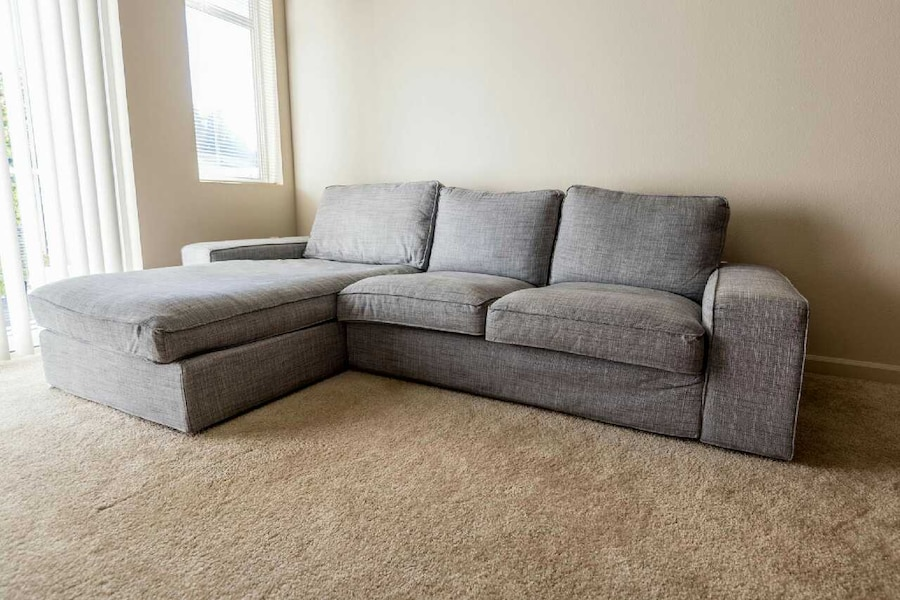 Used Ikea kivik sofa with chaise lounge in Mill Creek
