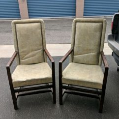 Tall Back Chairs Big Joe Lounge Chair Used Antique Henredon For Sale In Ventura Letgo