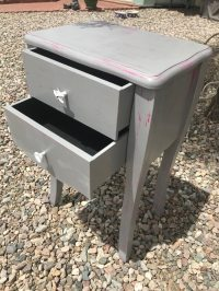 Used Refinished Grey End Table for sale in Queen Creek - letgo