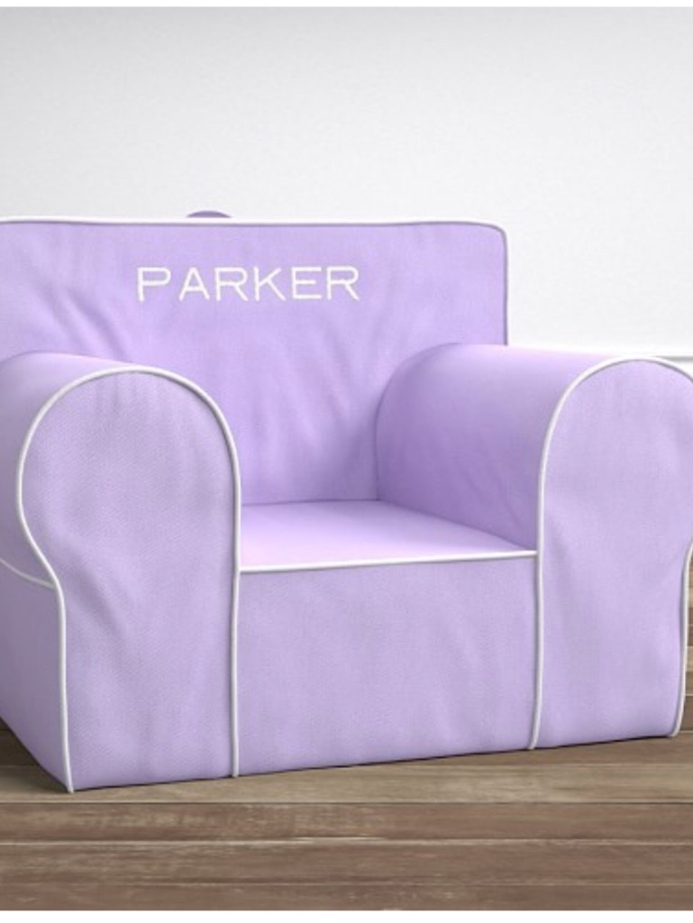anywhere chair insert modern salon styling chairs used pottery barn kids only for sale in egg