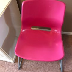 Ikea Pink Desk Chair Blush Sashes Used For Sale In Northbrook Letgo