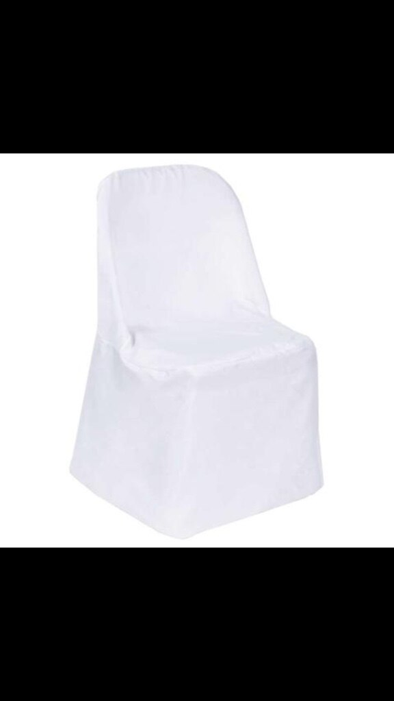 white folding chair covers ikea karlstad used for sale in orlando letgo