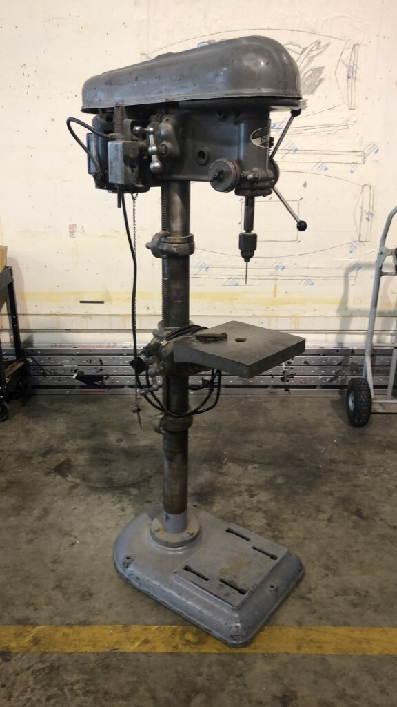 Vintage Delta Drill Press For Sale