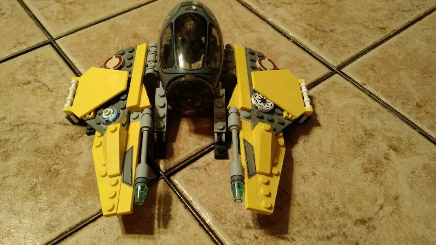 Lego Star Wars Jedi Starfighter Vs Vulture Droid