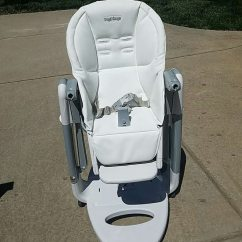 Peg Perego Tatamia High Chair Swing Replacement Cushions Used For Sale In Summerfield Letgo