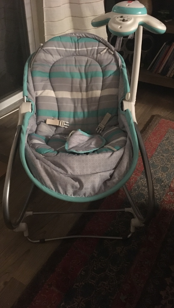 tiny love bouncer chair zurich swivel used bassinet and seat for sale in arlington letgo homeused baby child items texas