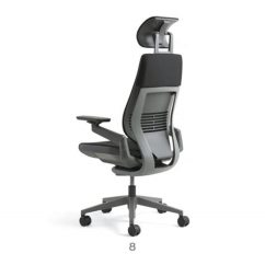 Steelcase Gesture Chair Plastic Folding Used Office With Headrest For Sale In San Francisco