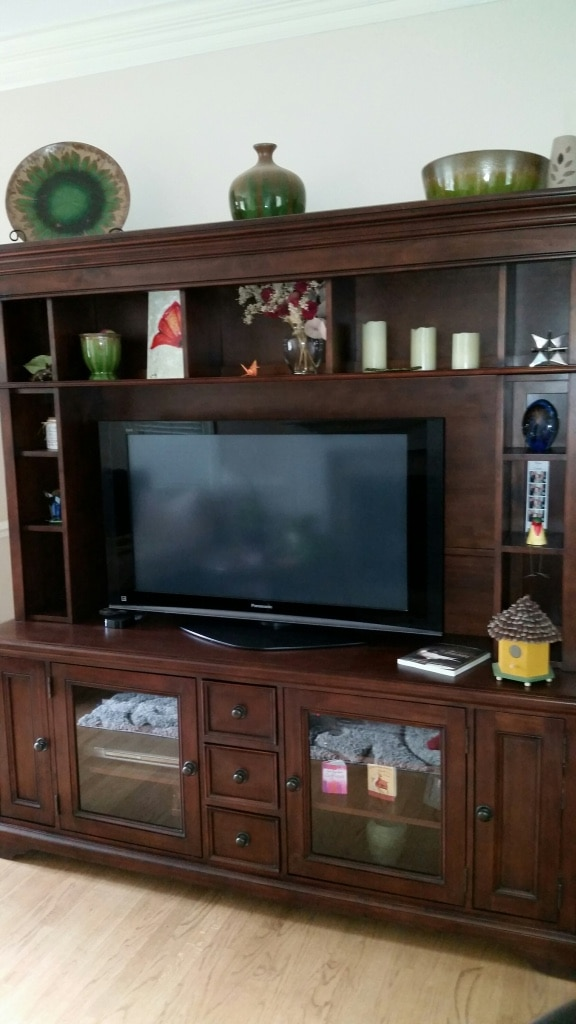 Used Rooms To Go Entertainment Center For Sale In Raleigh