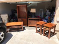 Real Wood Living Room Furniture. in Glendale - letgo
