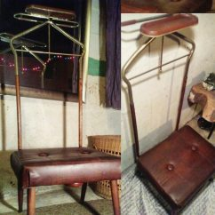Gentlemans Chair Diy Rail Used Rare 1940s Valet Butler Gentleman S For Sale In Irondale 1 5