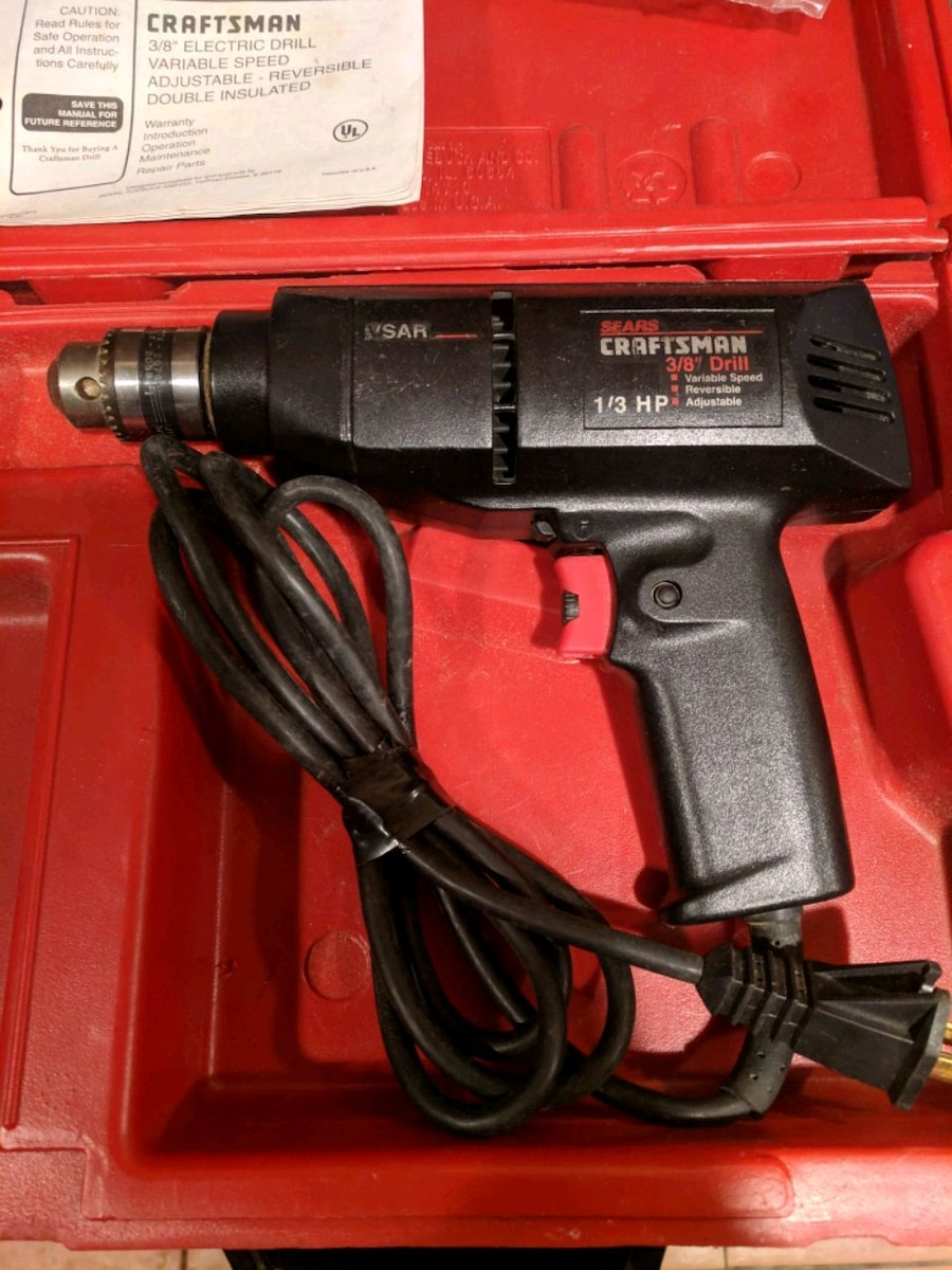 Craftsman Electric Drill