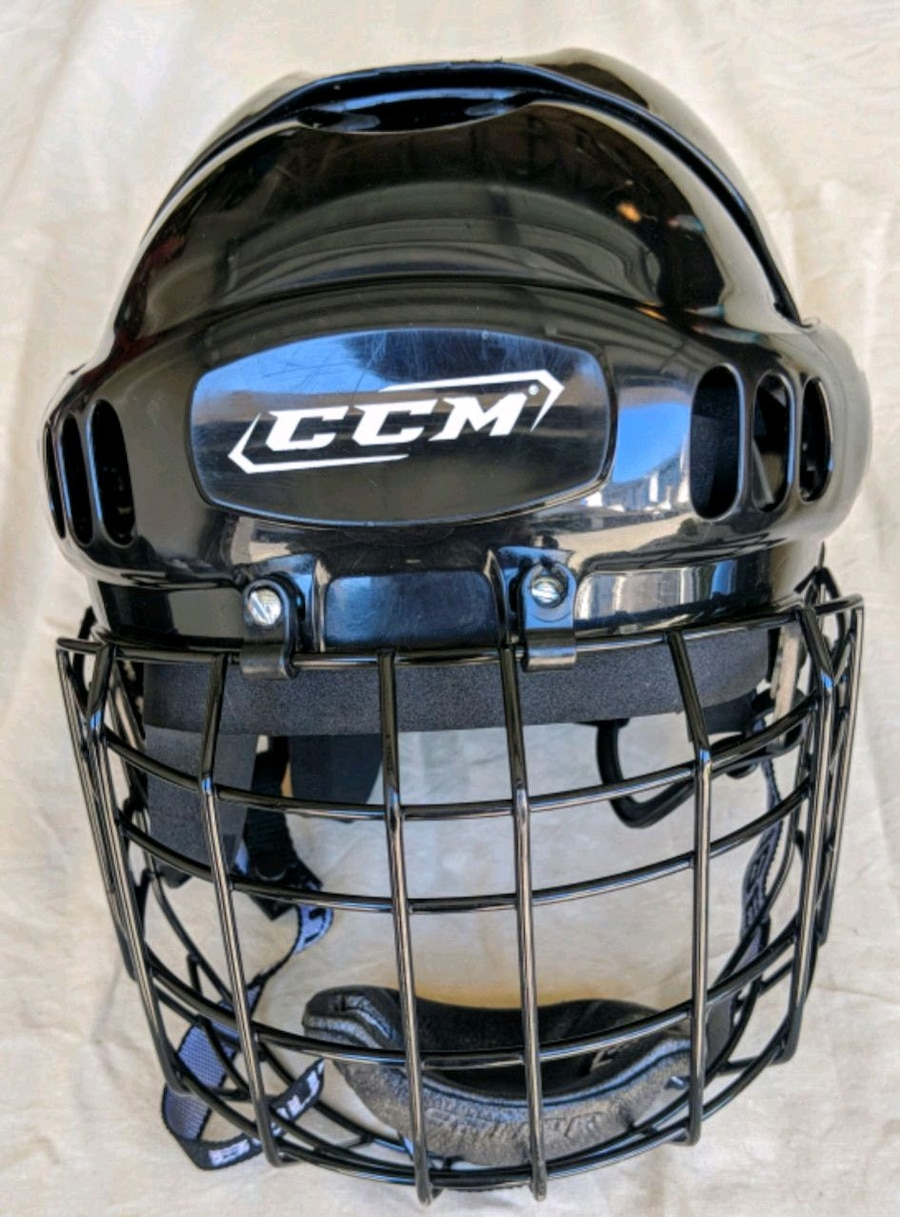 ccm hockey helmet with