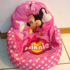 Minnie Mouse Bean Bag Chair Rocking Ikea Usa Used For Sale In Melbourne Letgo Homebaby And Child