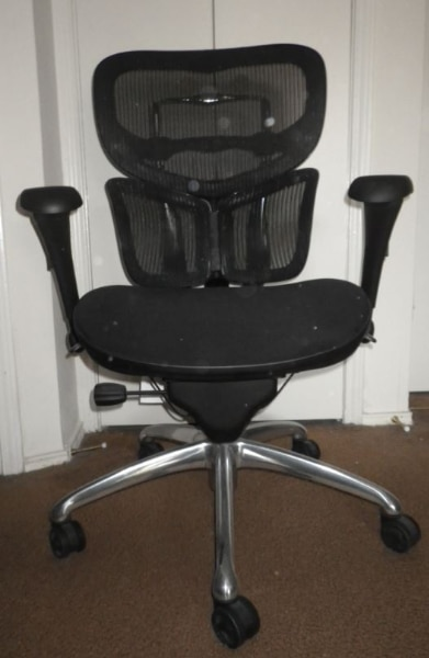 ergonomic chair used white shell chairs for sale in dallas letgo