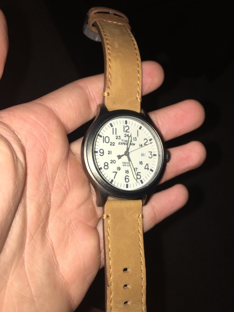 used timex expedition watch