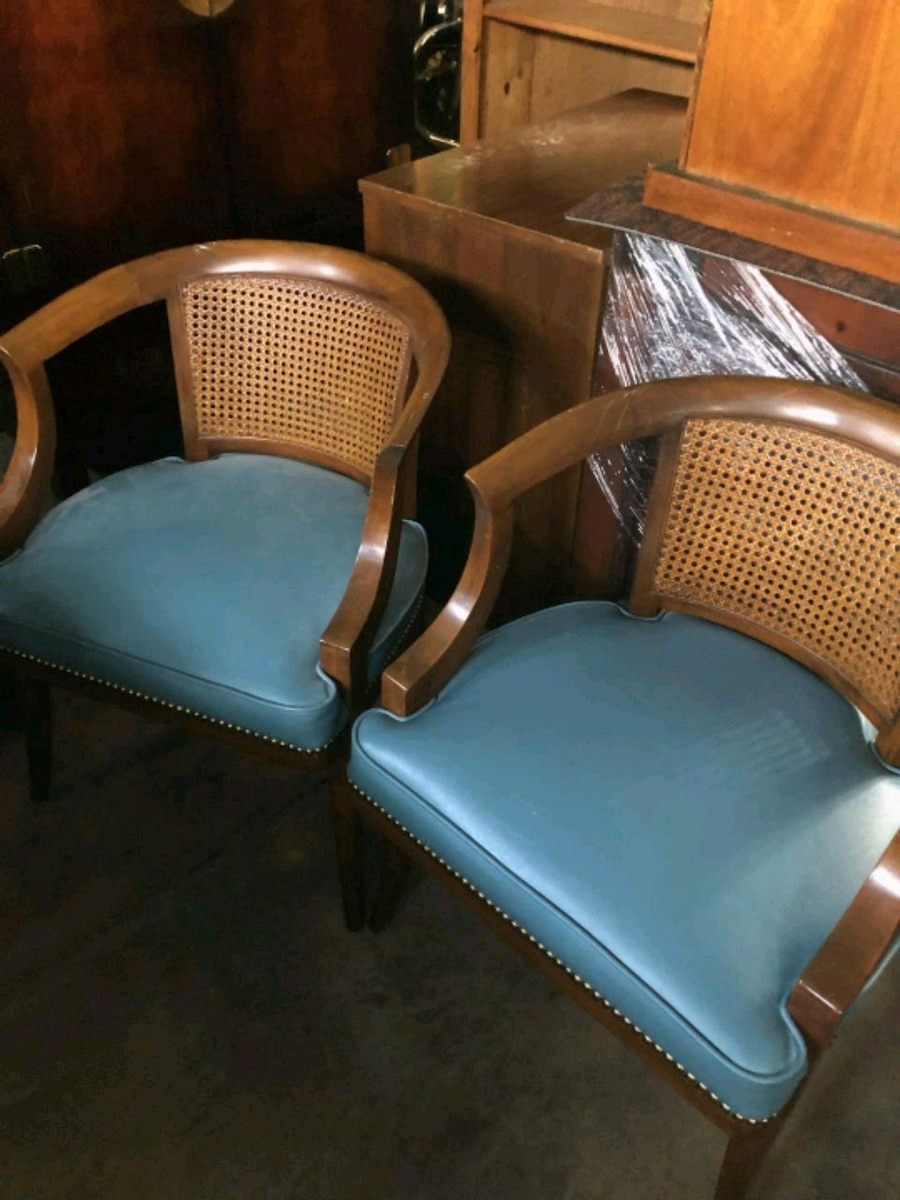cane back chairs for sale 1950s formica kitchen table and used mid century in morrison letgo 1 2