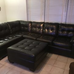 Cheap Black Leather Sectional Sofas Living Room For Sale Used Tufted Sofa In Dallas Letgo