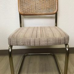 Breuer Chairs For Sale Miniature Electric Chair Used Marcel Cane Cesca Style Kitchen Dining Reupholstered Seat