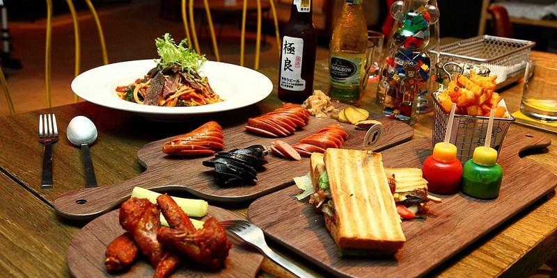 [台北中山] 林森北路不再只有燈紅酒綠的夜生活,結合文創、藝術、童趣咖啡廳!來場悠閒的午餐時光吧~ T-Park Café&eatery