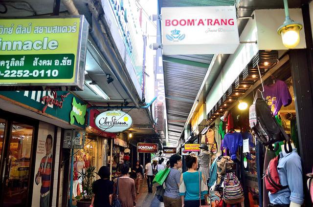 [曼谷]曼谷西門町~!Siam Square 買東西吃東西~!